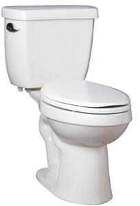 PROFLO® Edgehill 1.28 gpf Elongated Floor Mount Toilet Bowl in White PF9401WH