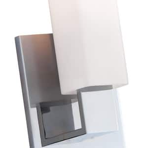 Hudson Valley Lighting Livingston 75W 1-Light Medium E-26 Base Bath Vanity Light in Polished Chrome HUD550