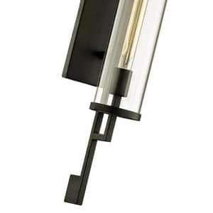 Troy-CSL Lighting Park Slope 75W 1-Light Medium E-26 Incandescent Wall Sconce in Forged Iron TB6463