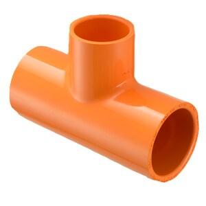 Spears FlameGuard™ 3 x 3 x 1-1/4 in. Plastic Sprinkler Reducing Tee S4201336