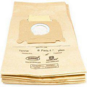Tennant Company 15-1/5 x 8-7/10 in. Paper Vacuum Bag for Nobles Vacuum Machines (Pack of 10) T1067462