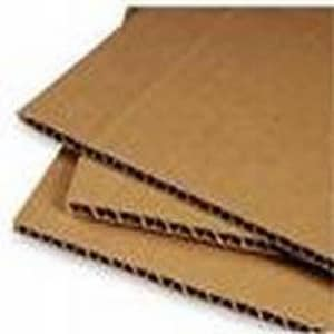 17-1/8 x 8-3/8 in. Kraft Die Cut Corrugated Pad with 32ECT HP132083