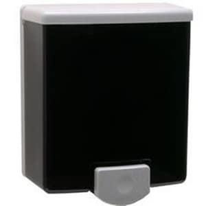 Bobrick ClassicSeries® 40 oz. Soap Dispenser in Black and Grey BOBRB40