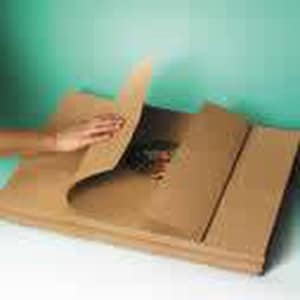 Strong Converting Formerly Litin Paper 40 x 48 in. Kraft Paper Sheets (Skid of 2500 Sheets) S145973