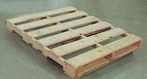 Pallet - Logistics Management 48 x 40 in. 4 Way Pallet Heat Treated HP134241