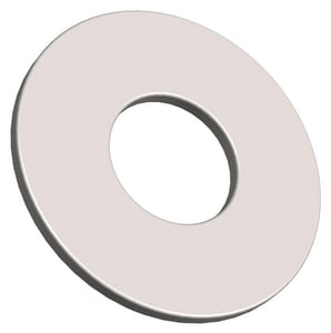 PROSELECT® 3/8 in. Zinc Steel Flat Washer 100 Pack PS000856