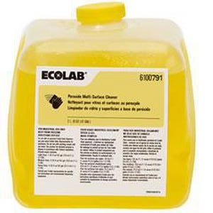 Ecolab 2 L Peroxide Multi-surface Cleaner (Case of 4) E6100791