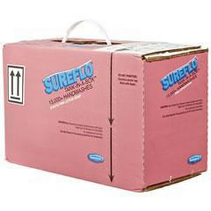 Bobrick SureFlo® 12 L Lotion Liquid Soap Cartridge in Pink BOBBOB81212