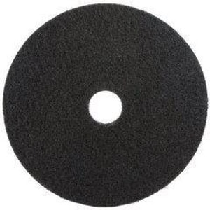 Americo Manufacturing (NP & PC) 19 in. Stripping Pad in Black (5 Pack) A400119