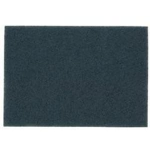 3M 20 x 14 in. Nylon and Polyester Cleaner Pad in Blue (Case of 10) 3M04801159259