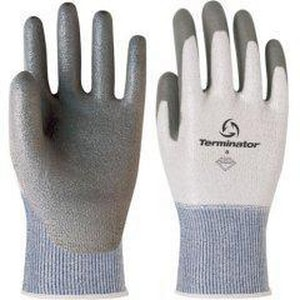 Banom Terminator® Size 13 MaxPly® Dyneema® Gloves in Light Blue and White BV830513