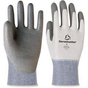 Banom Terminator® Size 7.5 Dynamax® 45 Gloves in Grey and White BV830575