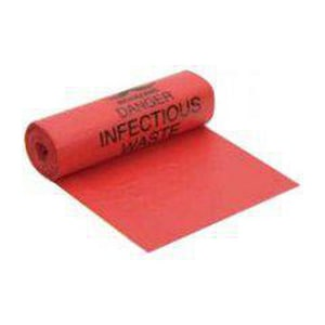Berry Plastics Hospi-Tuff® 40 x 46 in. 1.25 mil 45 gal Can Liner in Red BLHF4046HPR