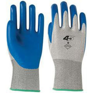 Banom 45® Size 10 Dynamax® 45 Gloves in Green and Red B450510