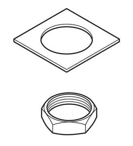 Delta Faucet Leland Nut And Washer Valve Body For Delta Faucet 9192t Dst Kitchen Sink Faucets Rp62243 Ferguson
