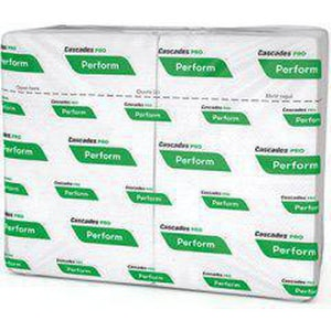 Cascades Tissue Group PRO Select™ 12-3/5 x 8-1/2 in. Interfold Napkin in White (Case of 16) CT410