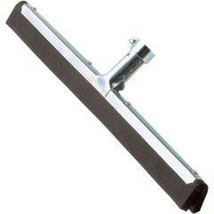 Ettore Products Company 18 in. Galvanized Steel and Rubber Dry Floor Squeegee E61018