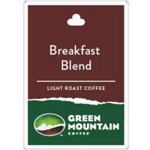 Keurig Dr Pepper 4-1/4 x 3 in. Breakfast Blend ID Card K28520