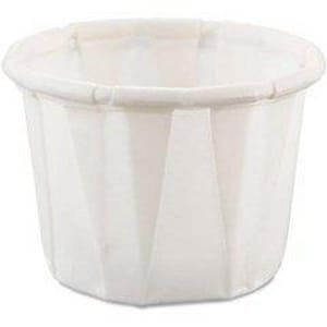 Dart Container Solo® 1 oz. Treated Paper Portion Souffle Container D1002050