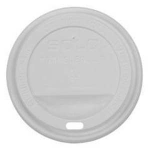 Dart Container Traveler® 24 oz. Hot Cup Dome Lid in White DTLP3160007