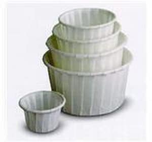 Dart Container Solo® 1.2 oz. Treated Paper Portion Souffle Container D1252050