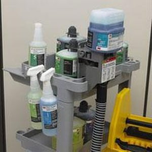 Impact Products Twist N Fill™ 32 oz. Empty Bottle with Trigger Sprayer for 3M™ 4L Bathroom Cleaner I503P04