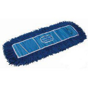 Golden Star Mops Infinity Twist® 48 x 5 in. Yarn Dust Mop in Blue GAQC48CITB