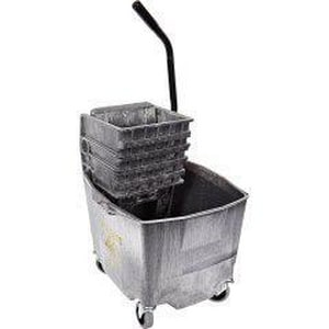 Impact Products InfoSpec™ 25 - 35 oz. Mop Bucket with Wringer Combination in Grey I6G26353G
