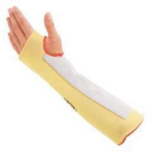 Honeywell Safety Products 18 in. Kevlar® Sleeve with Thumb Hole in Yellow HKVS218TH90
