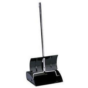 Impact Products 36 x 12 in. Metal and Steel Lobby Dust Pan in Black I2604