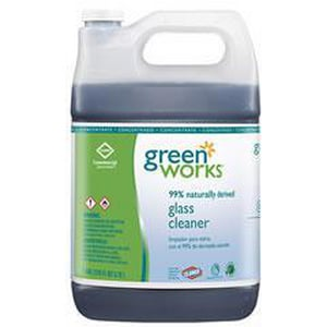 Green Works 128 oz. Fresh Lemon Scent Glass Cleaner Concentrate CLO30422