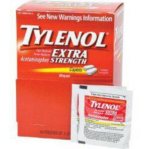 HART Health Tylenol® 500 mg Extra Strength Caplet H5488