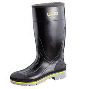 Honeywell Safety Products Servus® XTP® Size 9 MENS PVC Boot in Black and Yellow H75109BLM090