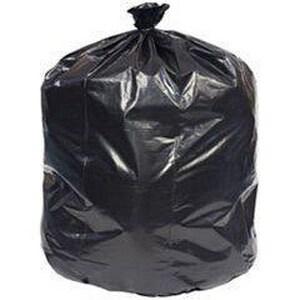 Heritage Bag Company 43 x 48 in. 16 mic 56 gal Trash Bag in Black (Case of 200) HZ8648VKR01