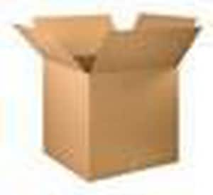 12 x 12 x 6 in. Kraft Plain Double Wall Corrugated Regular Slotted Carton with 32ECT BHD12126DW
