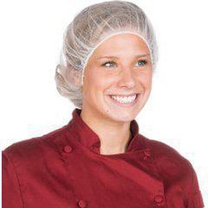 Liberty Glove & Safety 18 in. Nylon Hair Net in White LA1918WC