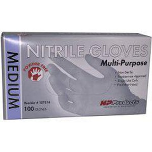 Liberty Glove & Safety DuraSkin® XS Size Industrial Grade Nitrile Gloves in Blue LT2010WCXS