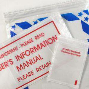Box Partners Loc n Pres® 9 x 12 in. Pressure Sensitive Zippered Envelope (Case of 500) BRCF912