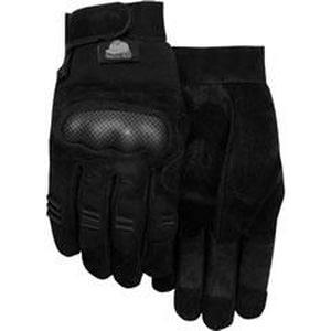 Majestic Glove L Size Thermoplastic Polyurethane Gloves in Black M2123L