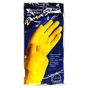 Liberty Glove & Safety DuraSkin® M Size Latex Gloves in Yellow L2871IM