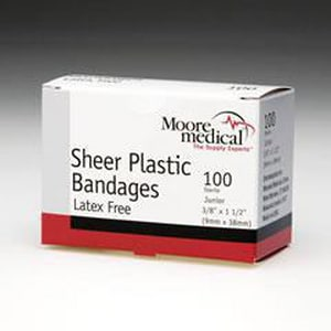 Mckesson Medical Surgical 3/4 x 3 in. Plastic Adhesive Strip (Box of 100) M68190
