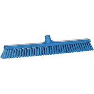 Remco Products Vikan® 24-2/5 x 2-4/5 x 4-1/2 in. Polypropylene Soft and Stiff Floor Broom in Blue REM31943