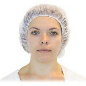 Safety Zone 24 in. Polypropylene Bouffant Hair Cap (Case of 1000) SDBWH241