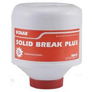 Ecolab Solid Break Plus™ 6 lb. Laundry Detergent Booster E6116009
