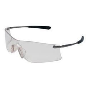 MCR Safety Rubicon® T4 Polycarbonate Safety Glasses with Clear Anti-fog Lens MT4110AF