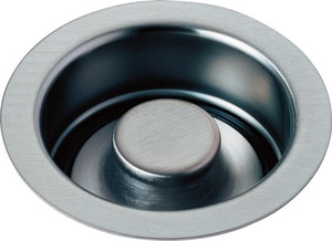 Delta Faucet Kitchen Disposal and Flange Stopper Arctic Stainless D72030