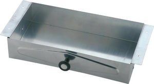 Delta Faucet Commercial Galvanized Steel Recessed Tissue Vanity in Polished Chrome D46090