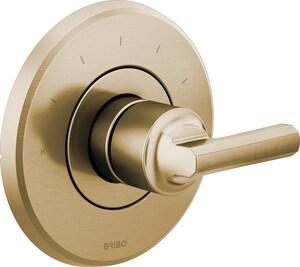 Brizo Levoir™ Bathtub & Shower Faucet in Luxe Gold (Trim Only) DT66T098GLLHP
