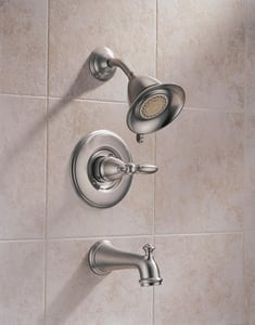 Delta Faucet Victorian® Zinc Handle Kit in Brilliance Stainless DH716SS