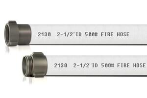 Abbott Rubber Co Inc 2-1/2 in.x 50 ft. Industrial Fire Hose MxF NST A2130250050NSTALRL at Pollardwater